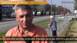 Жителі Сербії про візит Путіна
