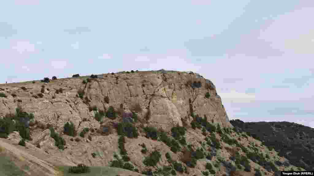 Вершина гори Аскети
