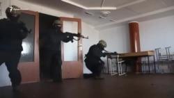 Тренировка крымских «морских котиков» в Одессе (видео)