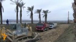 Xəzər Adalarının tikintisi gedir
