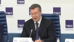 Виктор Янукович о ситуации в Донбассе