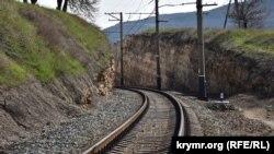 Железная дорога (архивное фото)