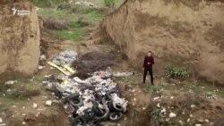 Қоқыс орнына айналған сақ қорғандары