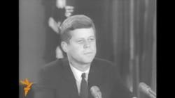 Kennedy Announces Naval Blockade Of Cuba