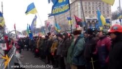 Майдан вітає рішення Азарова про відставку і скасування «законів 16 січня»