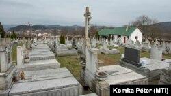A sóshartyáni temető 2021. március 05-én.