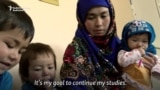 Afghan Mother Speaks Of University Goals After Image Goes Viral