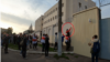 """Yauhen Rapin was sentenced to three years in """"open prison"""" on charges of damaging a security camera on the wall of a detention center in Minsk during an anti-Lukashenka rally in October."""