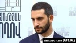 """""""Mənim Addımım"""" fraksiyasının deputatı Ruben Rubinyan"""