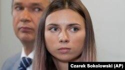 Atletja bjelloruse, Krystsina Tsimanouskaya