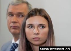 Крысьціна Ціманоўская і Павал Латушка