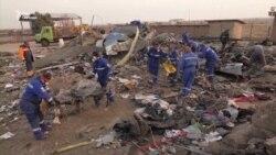 Українські експерти вивчають місце катастрофи літака МАУ в Ірані (відео)