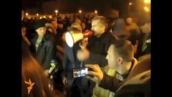 Aksyonov Addresses Pro-Russian Supporters In Crimea