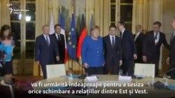 Angela Merkel merge la Moscova, pe fundalul tensiunilor globale