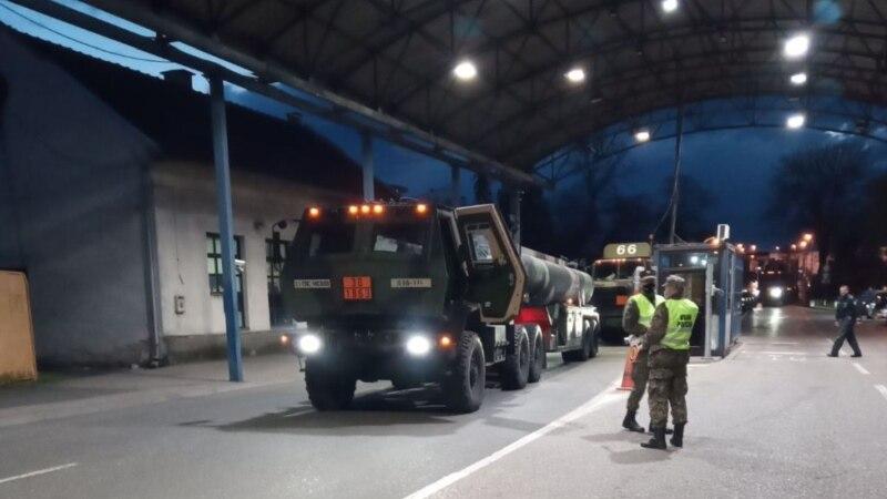 Američka vojna vozila za vježbu s Oružanim snagama ušla u BiH