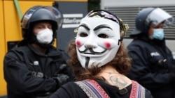 В Германии и Франции антикарантинные протесты: в Берлине сотни задержанных