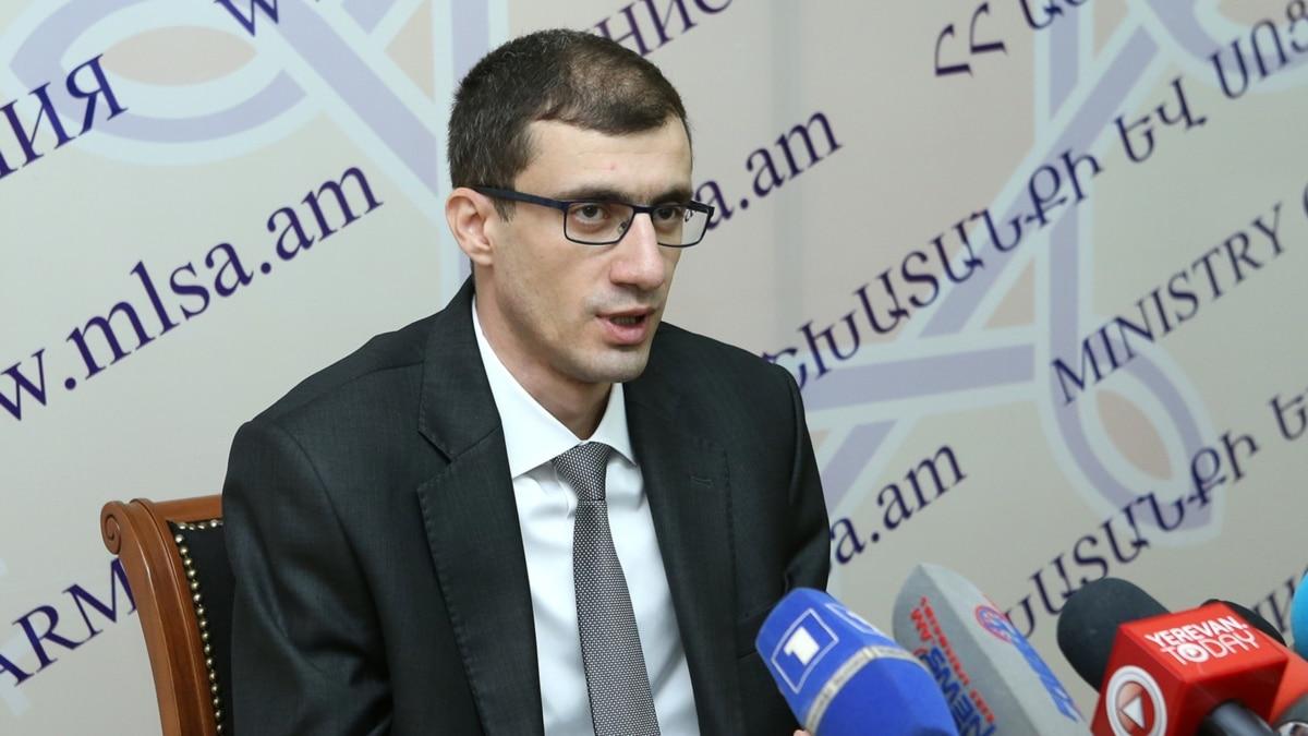 Armenian Labor Minister Resigns