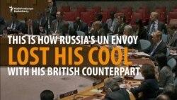 'Look At Me!' -- Russian UN Envoy Demands Attention