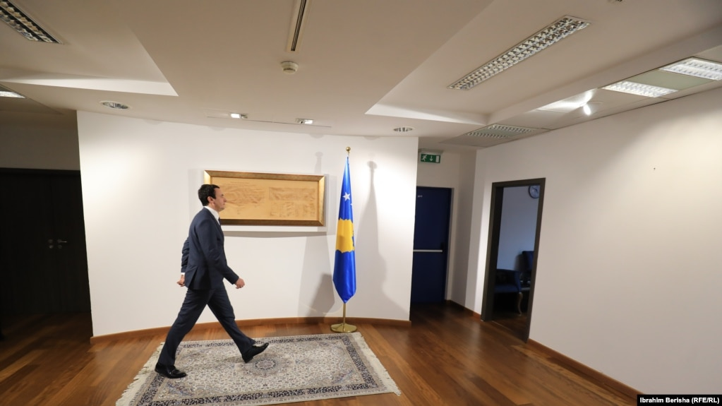 Kryeministri i Kosovës, Albin Kurti.