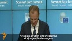 Acord de compromis la Bruxelles pe tema situației financiare a Greciei