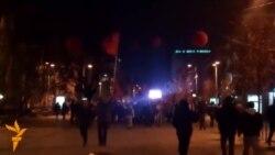 Vetëvendosje feston fitoren në Prishtinë
