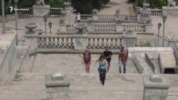 Разрушенный символ Керчи: Митридатская лестница ждет реконструкции (видео)