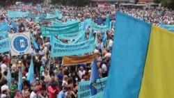 У Сімферополі на мітингу вшанували пам'ять жертв депортації кримськотатарського народу