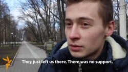 Ukrainian 'Cyborg' Describes Ordeal At Donetsk Airport