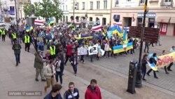 Польський марш солiдарності з Україною до роковин депортації кримських татар