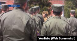 Олександр Ходаковський на урочистих заходах у Донецьку 6 травня 2020 року
