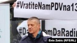 """""""Ne postoji nijedan znanstveni dokaz zašto bismo mi trebali biti zatvoreni"""", kazao je Oreščanin na prosvjedu"""