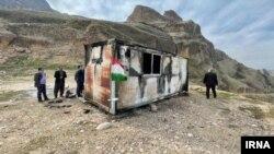 مدرسه کانکسی در دزفول که آتش گرفت