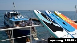 Наскільки готові до приймання російських туристів пляжі на захід від центру Ялти?