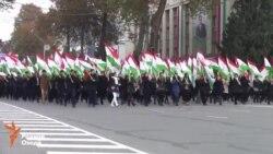 Таҷлили бошукӯҳи рӯзи парчам дар Душанбе