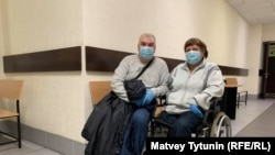 Адвокат Андрей Московчук и пострадавшая Наталья Гудкова