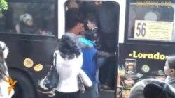 «Құлагер» тұрғындары автобусқа машақатпен мінеді