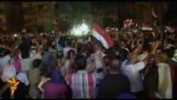 Slavlje u Egiptu nakon smjene Morsija