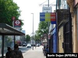 """Magazinul """"Gospodina"""" în Londra"""