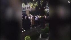 اعتراض به «حصر» در مراسم تشییع پیکر یزدی