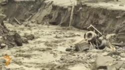Hundreds Evacuated In Kazakh Mudslide
