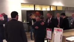В Варшаве произошла драка между членами делегации Таджикистана и оппозиционерами