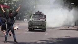 Sukobi demonstranata i policije u Čileu