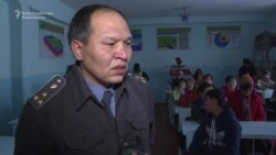 Kyrgyz Cop Turns Filmmaker In Fight With IS