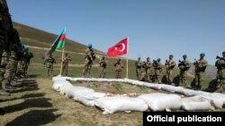 تطبیقات مشترک نظامیان ترکیه و آذربایجان