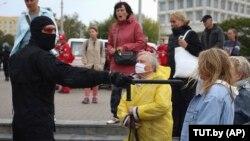 Протест во Минск, Белорусија
