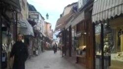 Artizanalet në Çarshinë e Vjetër të Shkupit