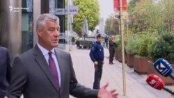 Thaçi deklarohet për vizitën e Vuçiqit në Kosovë