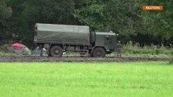 Belarusla Litva arasında qalmış qaçqınlar