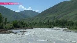 Чу выходит из берегов и грозит северу Кыргызстана
