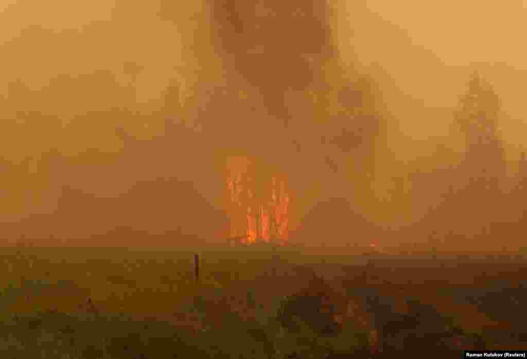 Tombol a tűz Jakutföldön